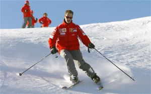 Michael Schumacher se intoarce acasa