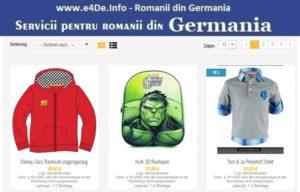 Magazine romanesti pentru copii in Germania