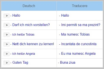 Lectii de limba germana