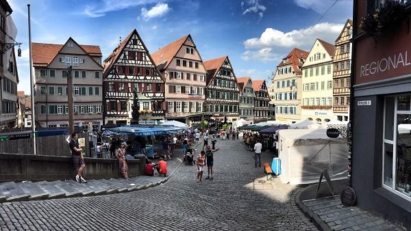 Romani in Tübingen