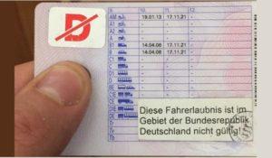 Permisul romanesc suspendat in Germania