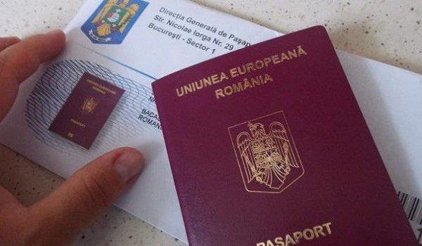 Pașaport românesc