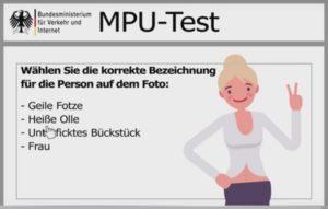 Testul MPU in Germania